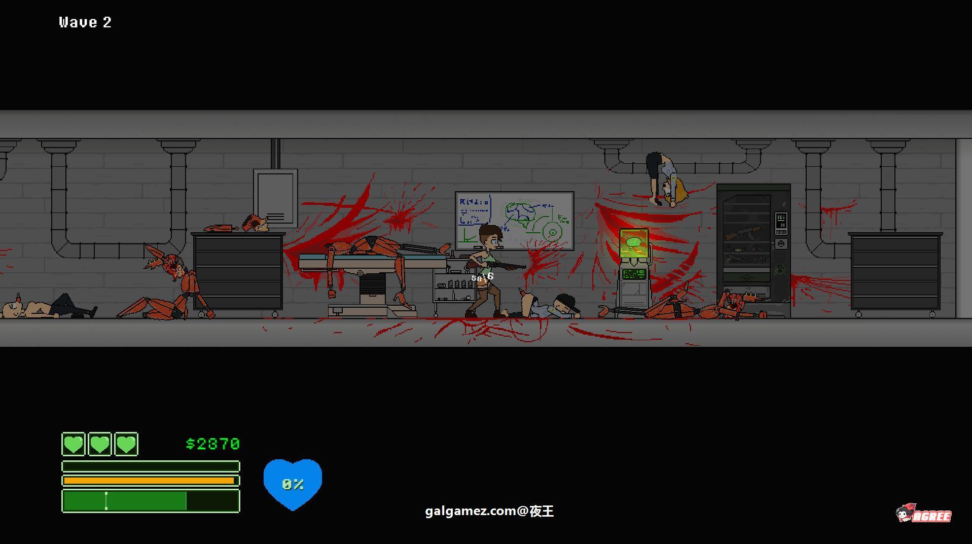 [横版射击ACT/青山汉化/全动态]囚禁 V1.05b 精翻汉化版★少女大战僵尸[百度][36M] 12