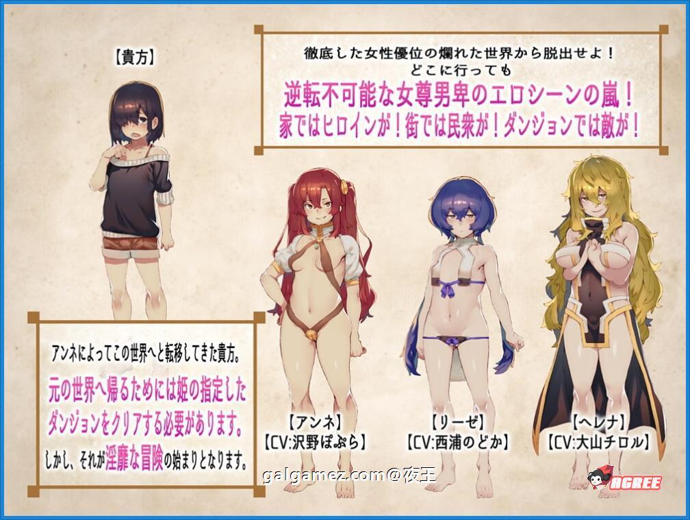 [探索RPG/汉化/全CV]只会邂逅到肉食系女的RPG 容量MAX 云汉化版+CG包[百度][4G] 3